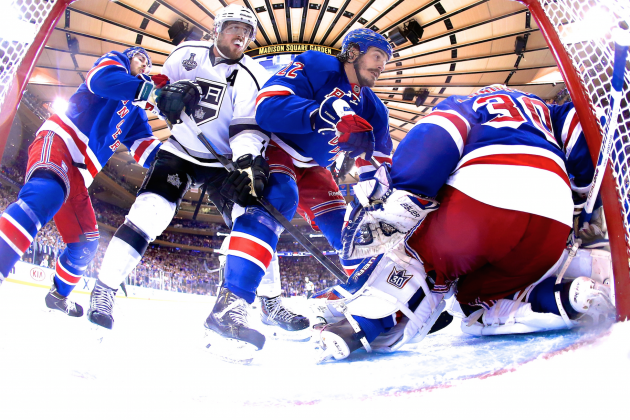 Kings Deliver Championship-Quality Performance as Rangers Somehow Survive Game 4