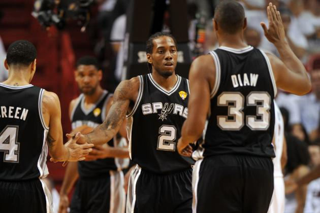 San Antonio Spurs Can't Squander 2nd Chance to Dethrone Miami Heat