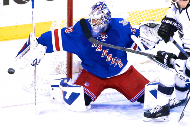 Henrik Lundqvist Keeps Rangers on Life Support with Outstanding Game 4