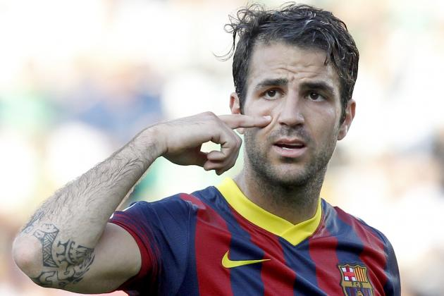 Chelsea Transfer News: Cesc Fabregas Medical Planned as Arsenal Look Elsewhere
