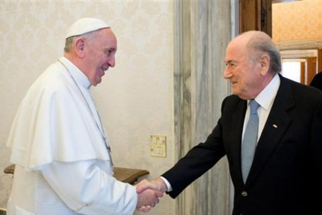 Pope Francis Wishes Football Fans a Wonderful 2014 World Cup on Twitter