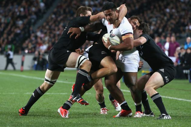 Manu Tuilagi Should Be Playing in the Centre for England Against New Zealand