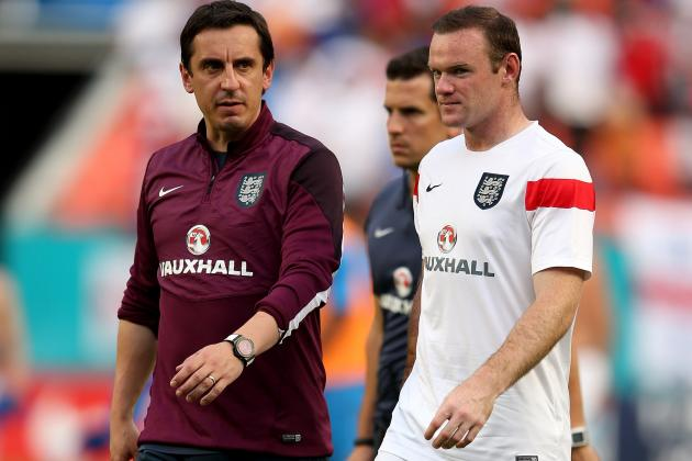Wayne Rooney Slams Paul Scholes, Gary Neville Attacks Media over England Notes