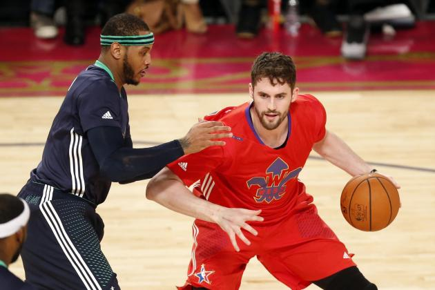 Why Kevin Love Joining Carmelo Anthony on New York Knicks Is Unlikely