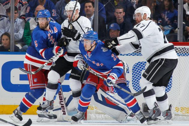 Stanley Cup Final 2014: TV Schedule and Odds for Rangers vs. Kings Game 5