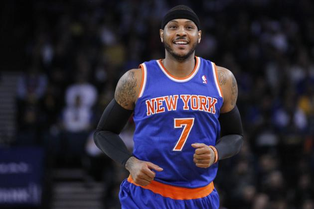 Derek Fisher: Carmelo Anthony Will 'Thrive' in the Triangle Offense