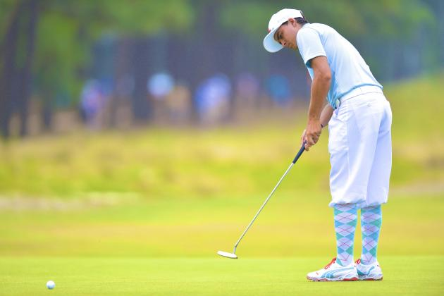 Rickie Fowler Wears Knickers, Argyle Socks in Honor of Payne Stewart