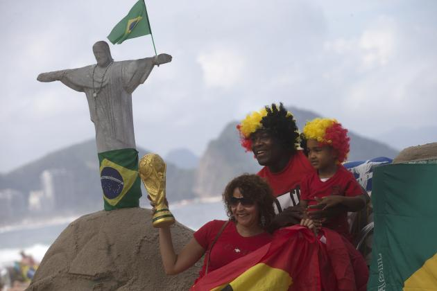 World Cup TV Schedule 2014: Fixtures, Coverage Info and Group Stage Predictions