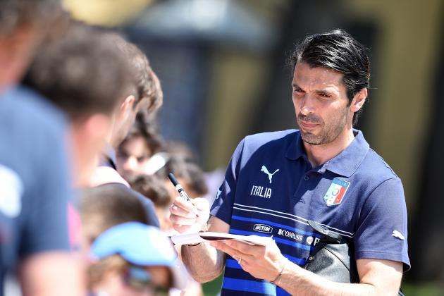 Veteran Juventus Goalkeeper Gianluigi Buffon Still Vital World Cup Cog for Italy