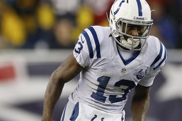 Hilton Has Scary Moment at Colts' OTA