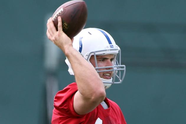 Andrew Luck Shares His Thoughts on the 2014 World Cup
