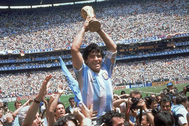1 in 18 Argentinian Boys Born During '86 World Cup Named After Diego Maradona?
