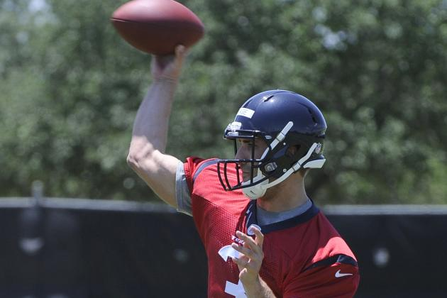 Texans Not Holding Back with Rookie QB Tom Savage