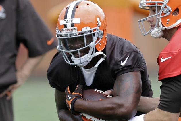 Browns' Ben Tate on His Battle with Terrance West: 'Nobody in That Room