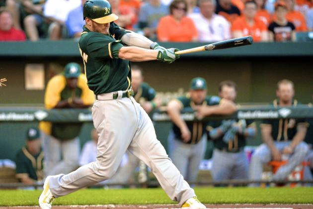 Josh Donaldson, Brandon Moss Have Become One of MLB's Best Hitting Duos