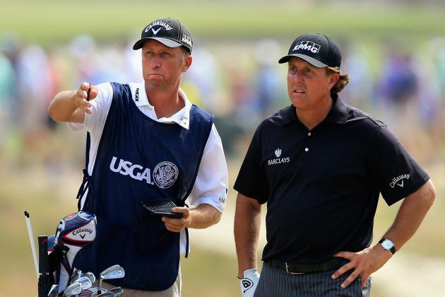 Phil and Rory Hit Fairways; McDowell Contends; Spieth One Back at U.S. Open