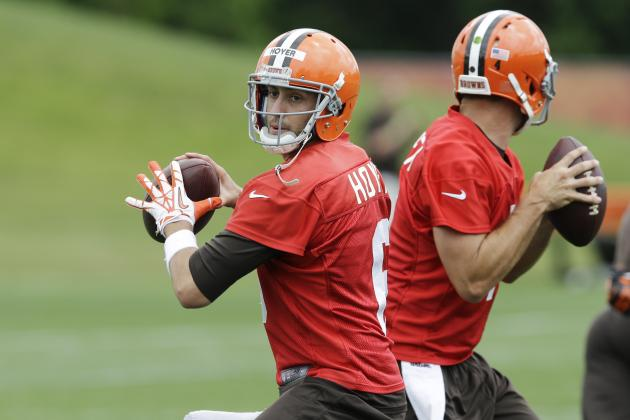 Brian Hoyer Leading Browns QB Competition Heading into Training Camp