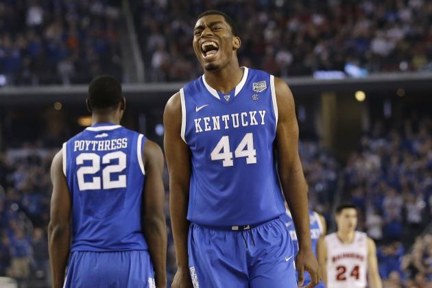 Kentucky Basketball: Dakari Johnson Will Be the Most Improved Player in 2014-15