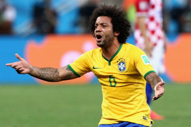 Twitter Abuses Wrong Marcelo After Own Goal for Brazil in World Cup Opener