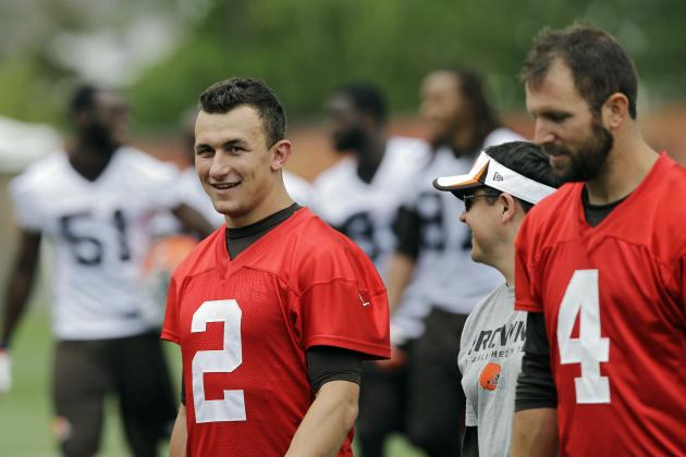 What's the Twitter Buzz About Johnny Manziel at the End of 2014 OTAs?