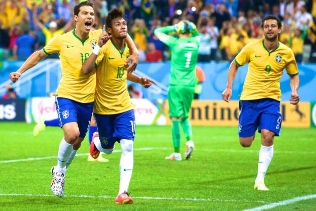 Brazil vs Croatia: Live Score, Highlights for World Cup 2014 Opening Game