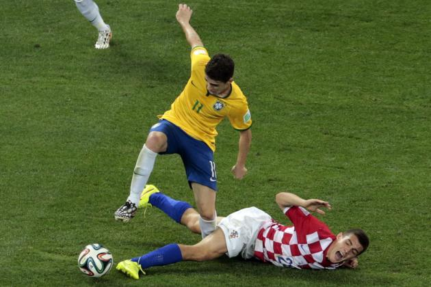 Brazil vs. Croatia: Live Player Ratings