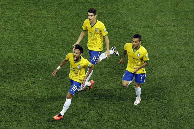 World Cup 2014 Groups Table: Standings, Odds, Bracket Predictions After Day 1