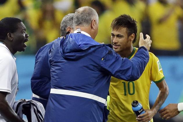 Brazil's Tactical Switch Gives Neymar Centre-Stage in World Cup Opener