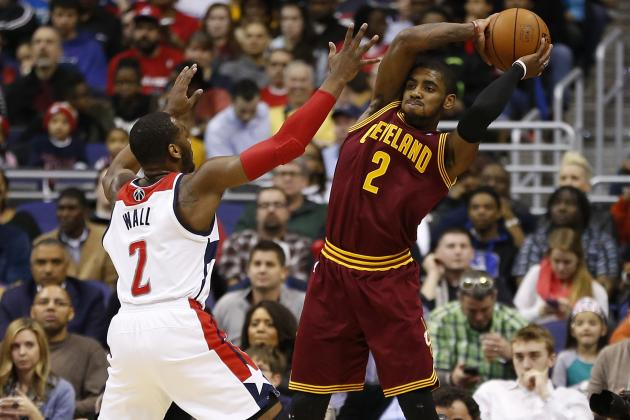 Cleveland Cavaliers Must Take Lesson from John Wall, Give Kyrie Irving Max Deal
