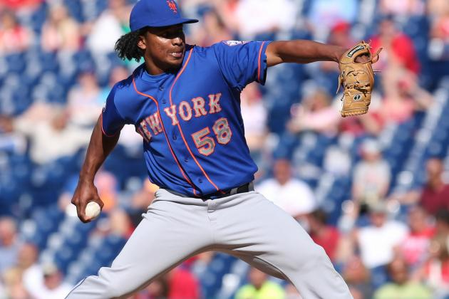 Mets Closer Jenrry Mejia Exits with Apparent Injury