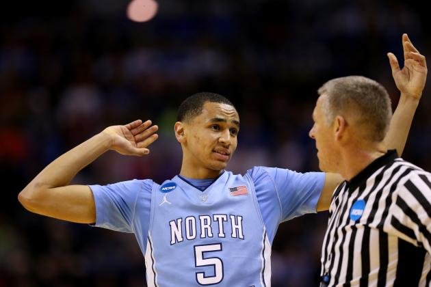 North Carolina PG Marcus Paige Jokes About NBA Ref Joey Crawford