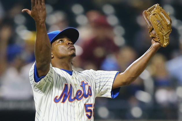 Mets Closer Jenrry Mejia Exits with Back Stiffness