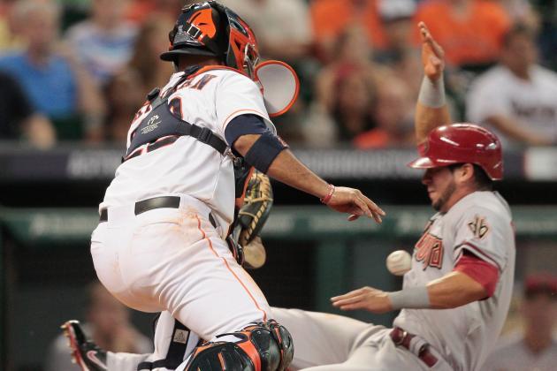 Carter's Homer Gives Astros 5-4 Win over Arizona