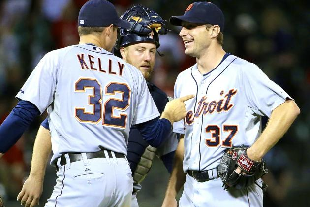 Max Scherzer's 1st Shutout Shows He's Assumed the Title of Tigers MVP