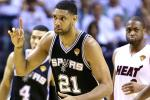 Duncan Sets Double-Double Playoff Record