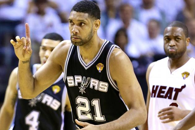 Tim Duncan Breaks All-Time Career NBA Playoff Double-Doubles Record