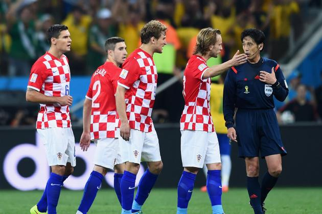Yuichi Nishimura: Who Is Ref Who Gave Brazil Controversial World Cup Penalty?