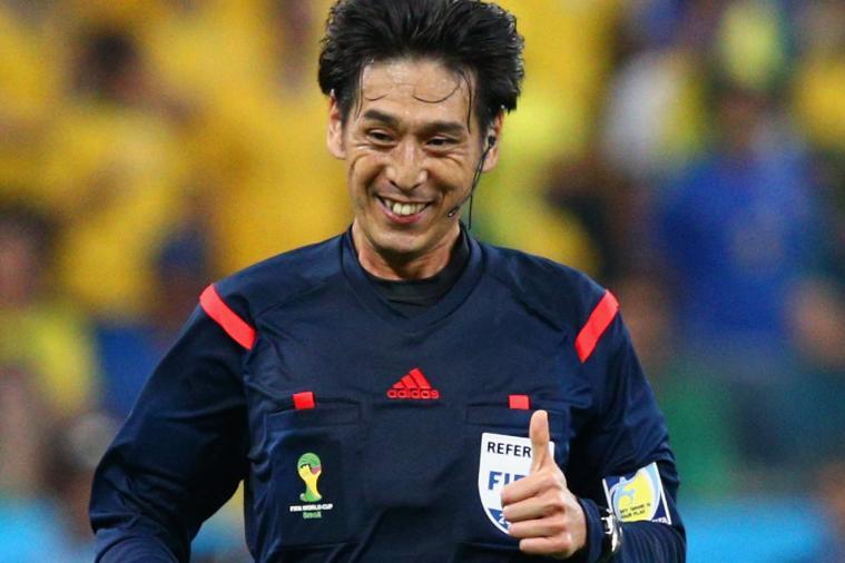 Dejan Lovren's Wife Anita Instagrams Pic of Ref Yuichi Nishimura in Brazil Shirt