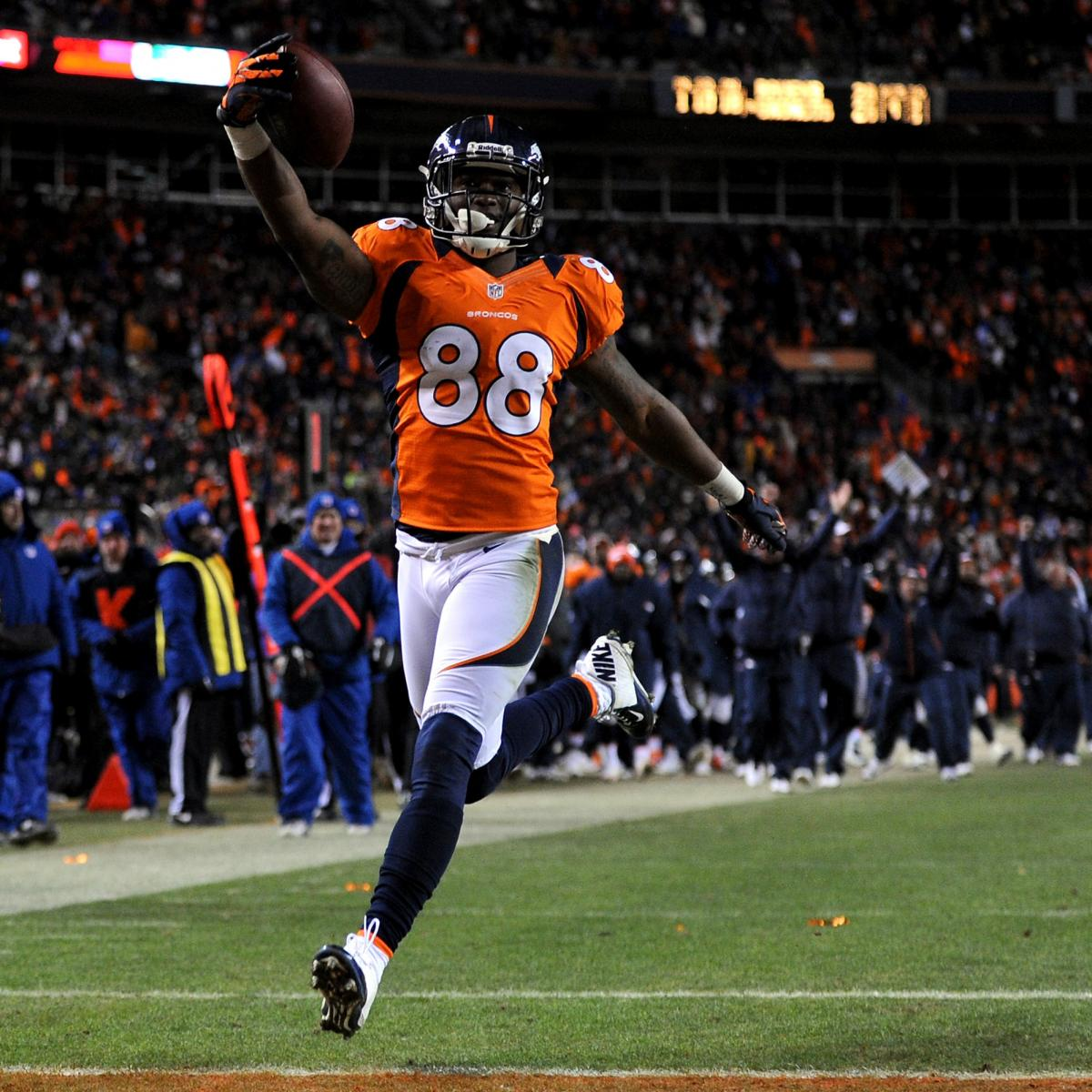 Demaryius Thomas Contract: Latest News And Rumors On