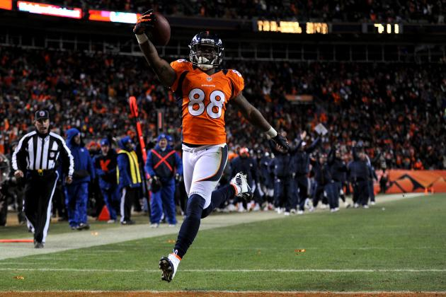 Demaryius Thomas Contract: Latest News and Rumors on Negotiations with Broncos