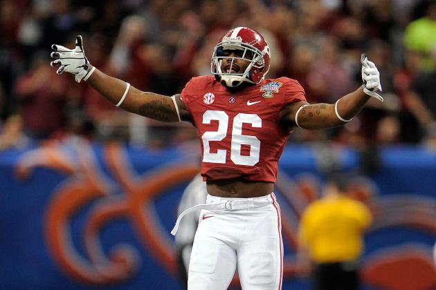 Two Draft-Eligible Alabama Juniors Ranked No. 1 at Their Position for 2015