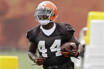Ben Tate Doesn't See Any Competition for Browns' Running Back Spot