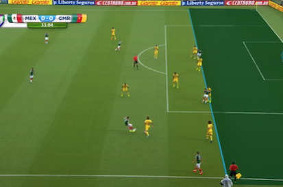 Mexico's Giovani Dos Santos Has 2 Goals Wrongly Disallowed vs. Cameroon