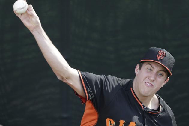 Giants Pitching Prospect Derek Law Has Sore Elbow