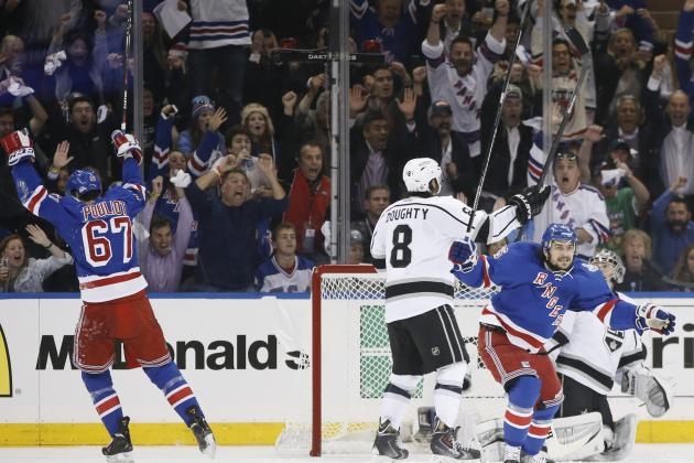 NHL Playoffs 2014: Schedule, TV Info, Predictions for Kings vs. Rangers Game 5