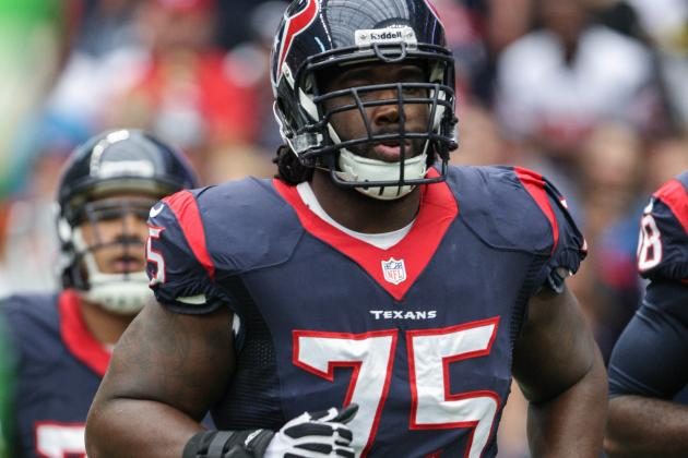 Texans Name Derek Newton Starting Right Tackle