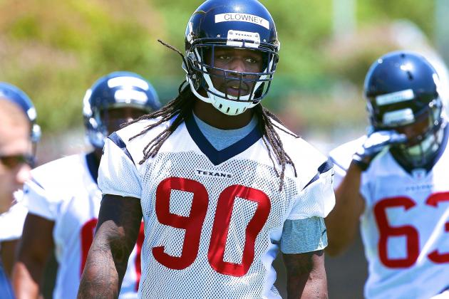 Jadeveon Clowney Injury: Updates on Texans Rookie's Hernia and Return