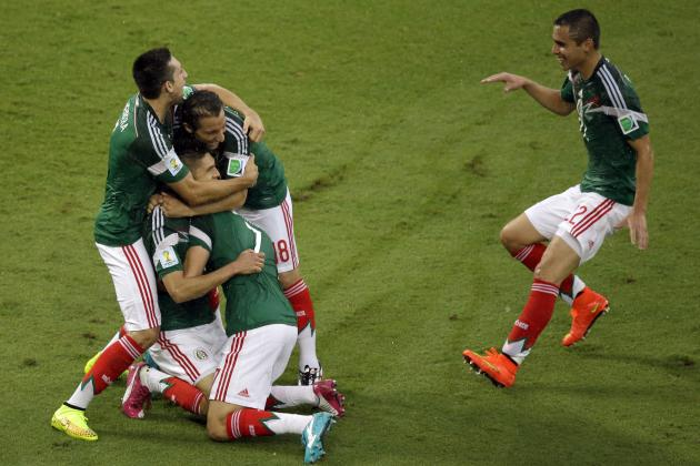 Mexico vs. Cameroon: Live Player Ratings