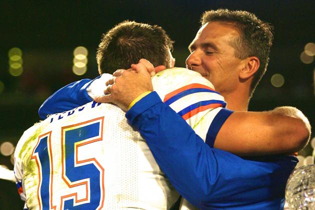 Urban Meyer Says His 2008 Florida Team Was 'Best to Ever Play the Game'
