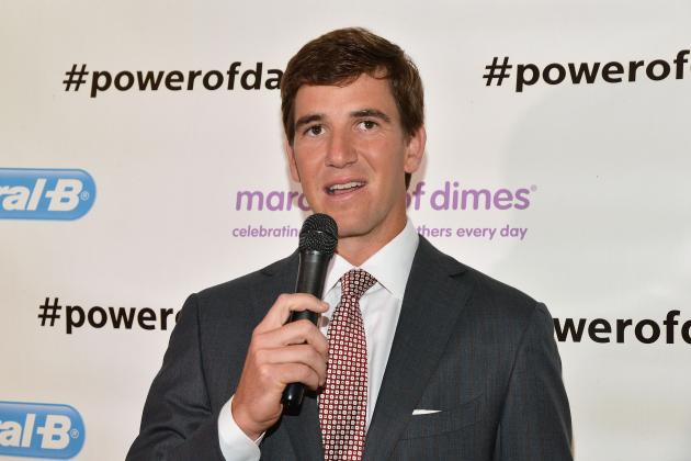 NY Giants QB Eli Manning Finds a Balance Between Fatherhood and Football